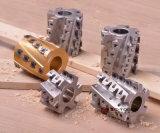 木のための木製のマスターのプレーナーのナイフの置換の螺線形のプレーナーの刃の共同ビット