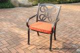 庭は静止した椅子アルミニウム家具を設計する