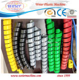 Bainha de protecção do cabo em espiral PE fazendo a máquina