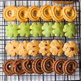 biscuit de biscuits de beurre de saveur de canneberge du fruit 100g