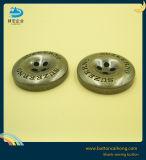 Настраиваемый логотип 4 Отверстие металлические против латунные швейных кнопки для слоя