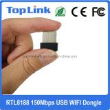 Realtek Nano 802.11n 150Mbit/s carte réseau sans fil USB dongle WiFi Ap souple de soutien