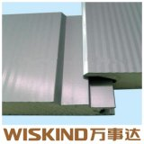 Painéis do tipo sanduíche de poliuretano para parede e telhado de aço