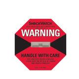 A etiqueta de advertência da ponta reduz o risco de dano no transporte