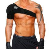상해 예방, 언 어깨 고통, 조정가능한 포장 결박 악대를 가진 압축 소매를 위한 어깨 버팀대 지원