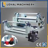 La película de silicio de corte horizontal de la máquina de rebobinar