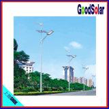 PolySonnenkollektor-hybrides SolarstraßenlaternePole, der Maschine herstellt