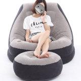 Sofà gonfiabile di Intex 68581 con la presidenza gonfiabile del sofà della presidenza del sofà dell'aria del poggiapiedi