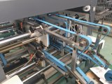 Máquina de colagem de dobramento inferior do fechamento automático do ruído elétrico da caixa de 4/6 de canto
