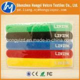Cinta plástica mágica de nylon impressa da fita de Velcro com logotipo feito sob encomenda