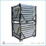 Barrière en aluminium noire de Mojo