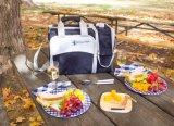 Bolso de hombro al aire libre respetuoso del medio ambiente modificado para requisitos particulares de comida campestre del bolso de Crossbody de la insignia