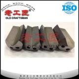 Broca de injetor personalizada do carboneto cimentado