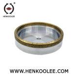 소결된 닦는 사용법 똑바른 플랜지 다이아몬드 회전 숫돌