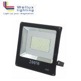 Venta caliente en el exterior IP65 200W FOCO LED SMD impermeables para Tenis Fútbol Baloncesto estadio con CE y RoHS