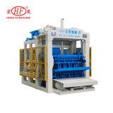 Bloco Fully-Automatic de Qt6-15D que faz a máquina Hongfa a linha de produção do bloco da maquinaria pesada