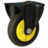 Geräuschlose Fußrollen-Räder der 4/5 Zoll-doppelte Bremsen-TPR für Laufkatze