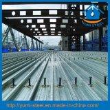 Strato d'acciaio galvanizzato di Decking del pavimento di lastra di Bondek