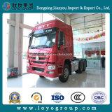 トレーラトラックのためのSinotruk HOWO 371HP 6X4のトラクターのトラック