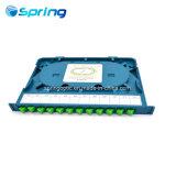 24/48/96/144 Portfaser-Optikzahnstangen-Montierungs-Verteilungs-Rahmen-Kasten-Änderung- am Objektprogrammpanel ODF