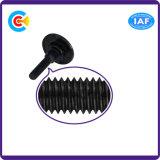 GB/DIN/JIS/ANSI kolen-staal/het Vlakke Hoofd Van roestvrij staal van de Niet genormaliseerde Schroef van de Stap voor Brideg
