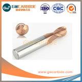 Fabricante de aço HRC 60 a extremidade de carboneto de tungstênio sólido Mill