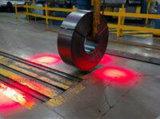 Bonne qualité Underslung Grue de pont de la lumière avec Spotlight rouge ou bleu