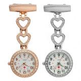 As mulheres de moda Pocket Watch Pendente Clip Pendure o relógio de quartzo