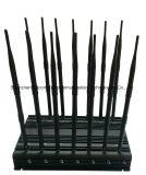 14 de Stoorzender van banden voor 3G/4glte Cellphone, GPS, Lojack, de Stoorzender van de Afstandsbediening/Blocker allen in