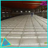 Grand dos 10000 litres de SMC FRP GRP de réservoir de stockage pour des eaux de pêche