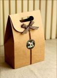 Новый мешок подарка бумаги способа оптовой продажи вычуры типа