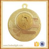 Aduana de aluminio de la medalla de la divisa