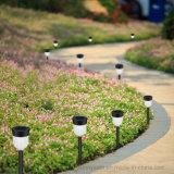 Rvb étanche de plein air Lumière solaire de jardin pour le paysage Yard pelouse pathway