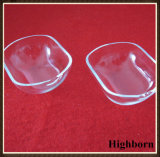 Borrar el barco modificado para requisitos particulares fundido del vidrio de cuarzo