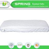 Pesebre del colchón de Terry del algodón mini de la cubierta impermeable hipoalérgica del protector