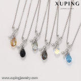 43799 de Kristallen van de Halsband van Xuping Doubai van de Halsband van het Bergkristal Swarovski