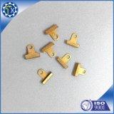 Clip terminal de batterie d'en cuivre de haute précision avec la surface plaquée par or