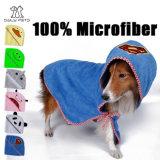 Microfiber любимчика Towl собаки полотенце 100% ванны