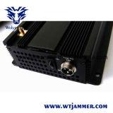 6개의 안테나 셀룰라 전화 & RF 방해기 (315MHz/433MHz)