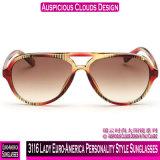 3116 Lady Euro-America Estilo de Personalidade de óculos de sol