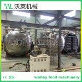 La Chine des pommes et les fraises de geler l'équipement à sec