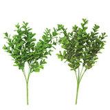 С налетом раз искусственного выращенного фо зелени листвы растения свадьбы сад чулан пластиковую втулку декоративных растений в основную часть оптовая торговля