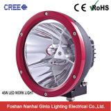 Bague en chrome noir jaune rouge 45W 7 pouces LED ronde phare de travail (6606-45W)