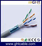 Binnen Cat5/Cat5e LAN van de Leider van het Koper van FTP 24AWG Kabel