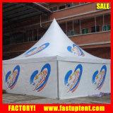 50人のSeaterのゲストのための白いアルミニウムPVC最も高いピークの望楼のテント