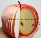 Les fruits en forme de bureau Pocket Memo/Sticky Notes (pomme orange peach pear pastèque)