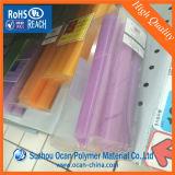 Hoja de PVC rígido brillante plástico de la caja plegable