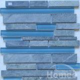 Tuiles de mosaïque en verre et de pierre (x36)