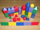 / 3D de las formas geométricas de juguete de matemáticas