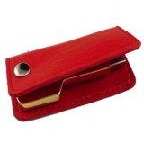 금속 중요한 모양 가죽 USB 섬광 드라이브